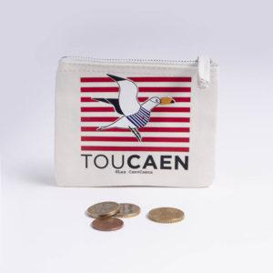 toucaen - porte monnaie ©lescaencaens