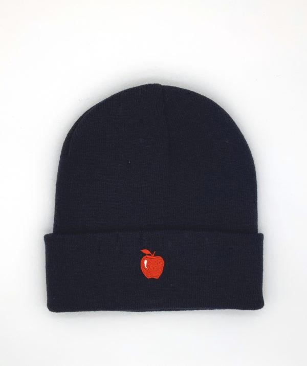 bonnet-marine-pomme-rouge