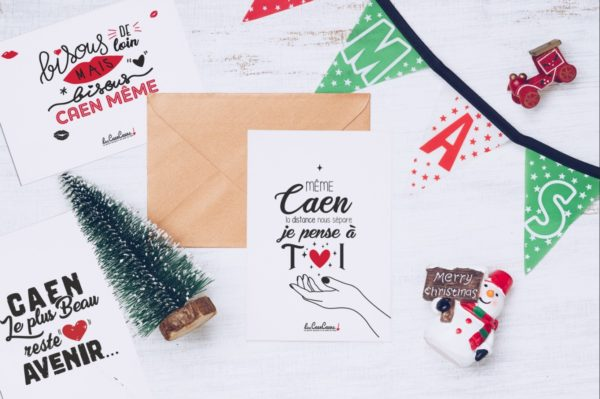 cartes postales les caencaens