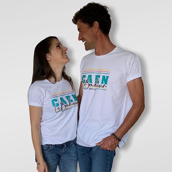 couplet shirt bonheur coupe mixte ©lescaencaens